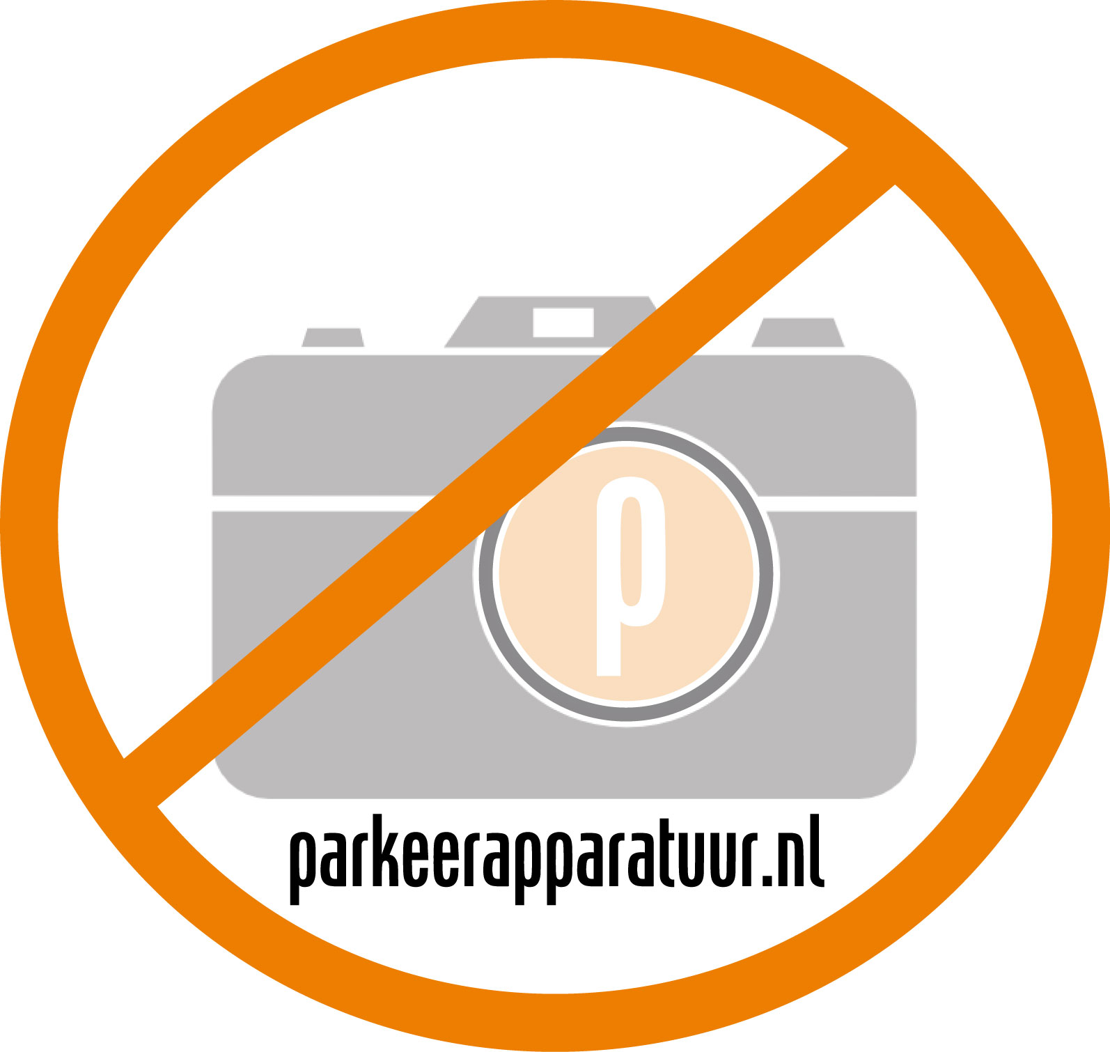 Parkeerverbod-bord Domopark
