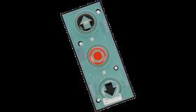 Drukknop-paneel MFZ op-stop-neer SoftCell CS300-400