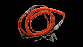 Spiraalkabel SET MFZ 5x0,5 mm 1,6m