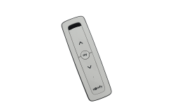 Remote Somfy Situo 1 RTS Pure II 1870404A