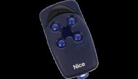 Remote Nice FLO4 433MHz (blue version) dip-switch