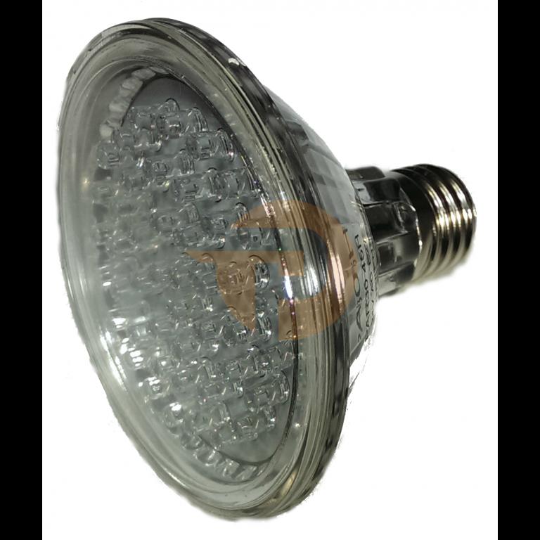 LED lamp geel 24Vdc E27 voor Apollo Plast