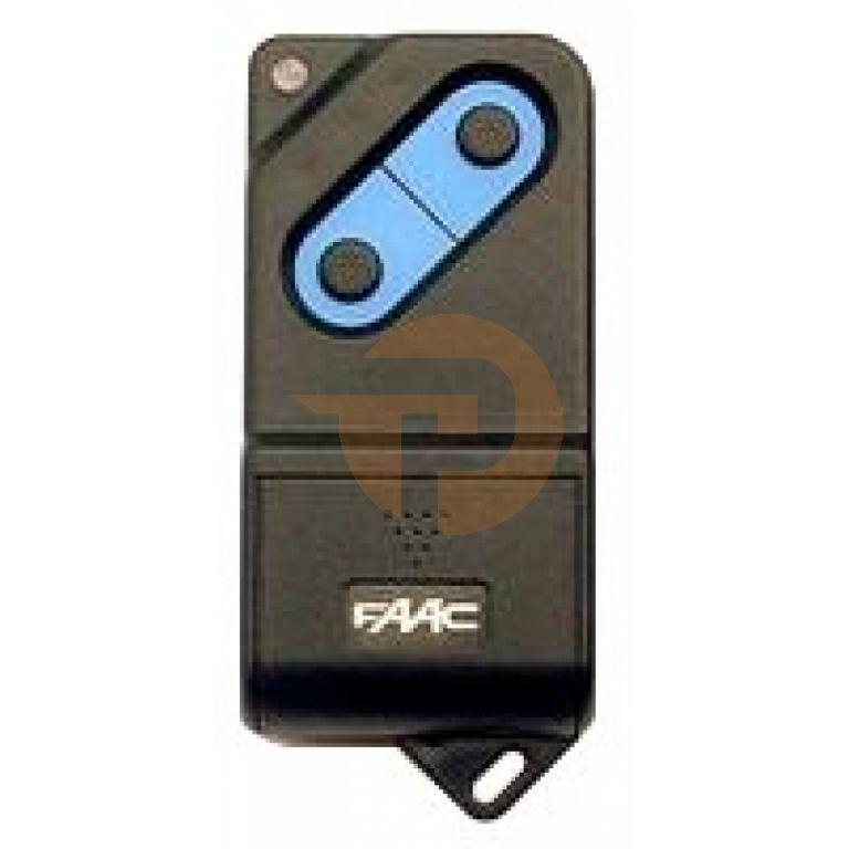 Handzender Faac TM868 DS met 2 kanalen