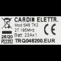 Handzender Cardin TRQ048200 met 2 kanalen
