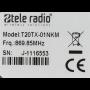 Handzender Tele Radio T20TX-01NKM met 1 kanaal 869MHz