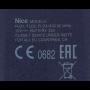Handzender Nice FLO4 433MHz (blauwe uitvoering) dip-switch