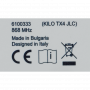 Handzender Genius KILO TX4 JLC met 4 kanalen